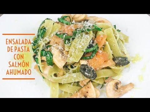 cómo hacer una ensalada de pasta con salmón ahumado | JUAN PEDRO COCINA |