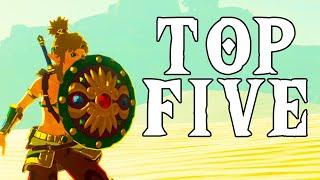 Top 5 Shields - BOTW (Spoilers)