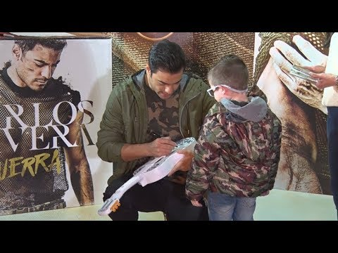 Carlos Rivera video Firma de discos - Argentina 2018
