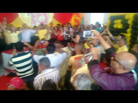 Encerramento da Convenção do PMDB São Luis do Quitunde