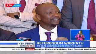 Five counties debated the Punguza Mizigo bill