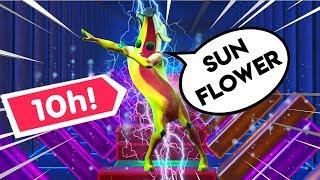 10h of Fortnite SUNFLOWER (Post Malone) - Fortnite Creative Music Blocks