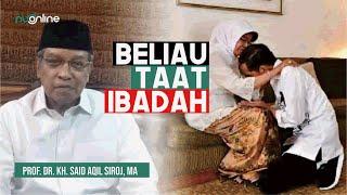 Duka Ketum PBNU atas Wafatnya Ibunda Jokowi
