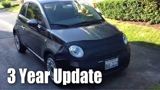 What I've learned about my Fiat 500 after 3 years