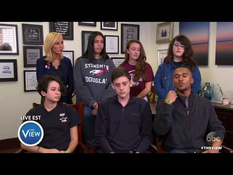 Florida School Shooting Survivors Discuss Fighting For Gun Control | The View