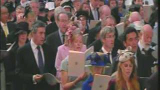 Guide me thou o great redeemer--Diana Memorial Service 2007
