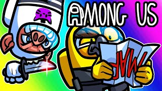 Among Us Funny Moments - Upside Down Map! by Vanoss Gaming