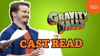 Gravity Falls Cast Reads From The First Episode