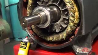 Electric Motor Bearing Install
