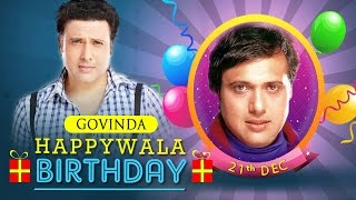 Govinda Birthday Mix - The No.1 Entertainer of Bollywood!!! #Comedywalas