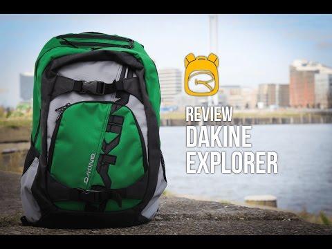 Dakine Explorer - Review auf Deutsch - Rucksack Test