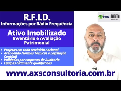 RFID no Controle Patrimonial Avaliação Patrimonial Inventario Patrimonial Controle Patrimonial Controle Ativo