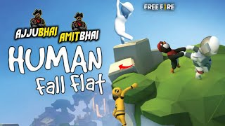 Human Fall Flat Live - Ajjubhai94 and Amitbhai Funny Gameplay