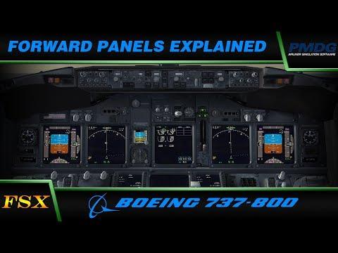PMDG 737 NGX: Forward Panels Explained