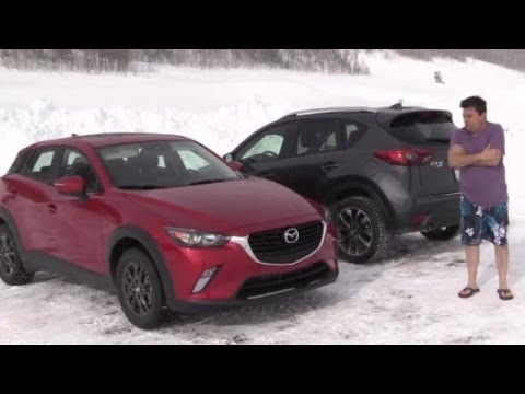 2016 Mazda All-Wheel-Drive Demo on Ice – Video