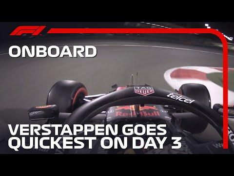 トップタイムを出したマックス・フェルスタッペンのオンボード映像 F1 2021 F1プレシーズンテスト バーレーン