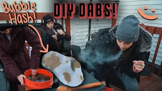 DIY AT-HOME BUBBLEHASH! (ft. Freezepipe) by Silenced Hippie