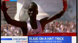 Eliud Kipchoge bags his 3rd title in London marathon