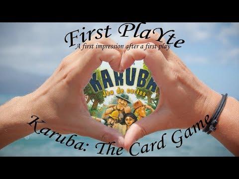 First PlaYte - Karuba: The Card Game