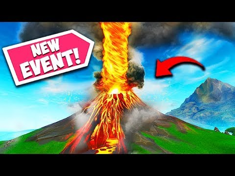 *NEW EVENT* VOLCANO FINAL EXPLOSION! - Fortnite Funny Fails and WTF Moments! #543