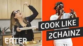 2 Chainz' Asparagus and 'Me Time' Sauce Made by Top Chef Leah Cohen thumbnail