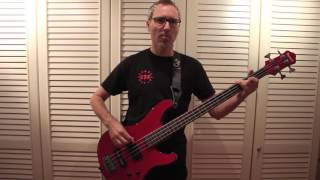 Mr. Fabulous -  Don't Stop Me Now - Queen Bass Cover (Easy)