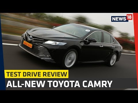 All New Camry 2019 Review Cover Ban Serep Grand Avanza Toyota India Test Drive News18 Auto