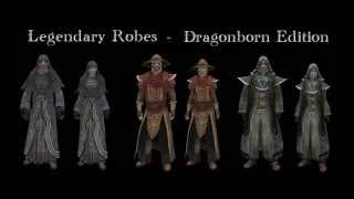Legendary Robes Dragonborn Edition