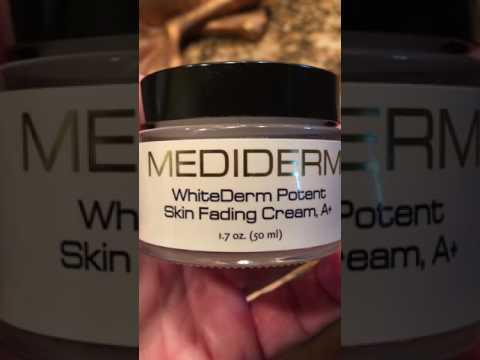 Pag-aalis ng edad spot cream review