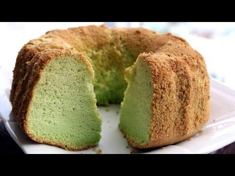 PANDAN CHIFFON CAKE – Bánh bông lan lá dứa