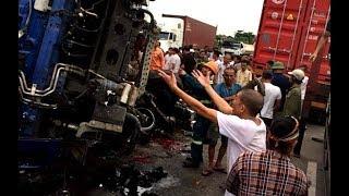 Góc nhìn trưa nay | Đứng xem tai nạn giao thông, ít nhất 5 người bị xe tải lật đè tử vong