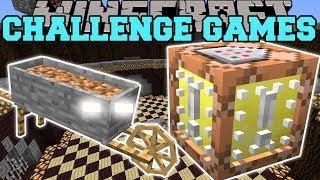 Minecraft: STONE WHEELBARROW CHALLENGE GAMES - Lucky Block Mod - Modded Mini-Game
