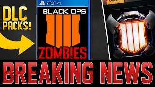 BLACK OPS 4 ZOMBIES DLC SEASON INFO! NEW CHANGES SEEN IN BO3! (Call of Duty Black Ops 4)