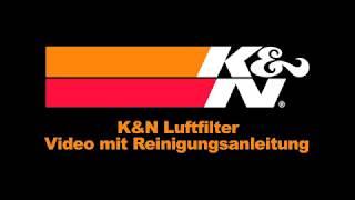 K&N Luftfilter Anleitung Reinigung und nachölen