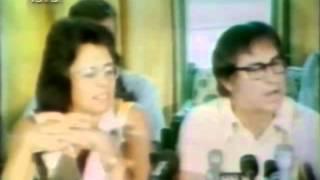 Billi Jean King Vs Bobby Riggs   Battle Of The Sexes