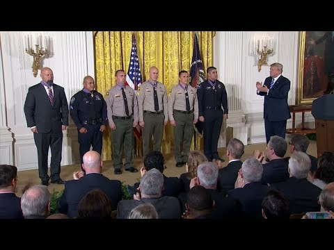 Local law enforcement officers given Medal of Valor | ABC7