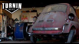 Runnin On Empty | 1959 BMW Isetta Runs After 30 Years | Turnin Rust Episode 5