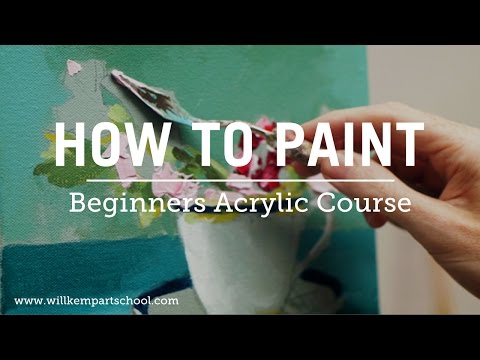 Beginners Acrylic Painting Course