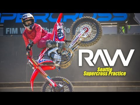 2019 Seattle Supercross Practice RAW - Motocross Action Magazine