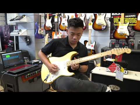 Demo guitar điện Fender R&B JAM