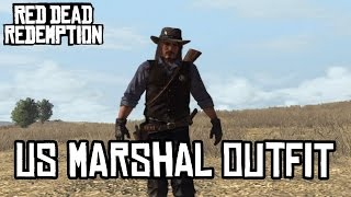 US Marshal Outfit - Red Dead Redemption (HD)