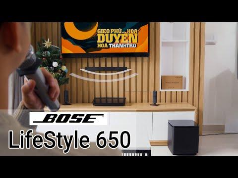 Dàn âm thanh Bose LifeStyle 650 - Nâng tầm cuộc sống