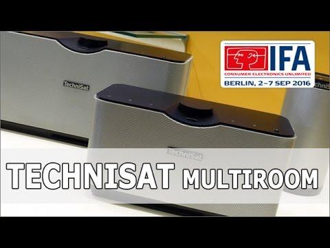 IFA 2016: TechniSat Audiomaster Multiroom System