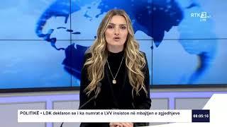 RTK3 Lajmet e orës 08:00 03.06.2020