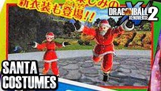 FREE SANTA DLC COSTUMES IN XENOVERSE 2! Dragon Ball Xenoverse 2 DLC Pack 8 FREE UPDATE!