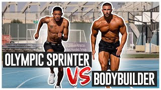 I Tried Sprint Training With An Olympic Athlete