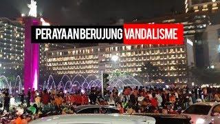 Kemenangan Persija Ternodai akibat Ulah Vandalisme Oknum Suporter Persija