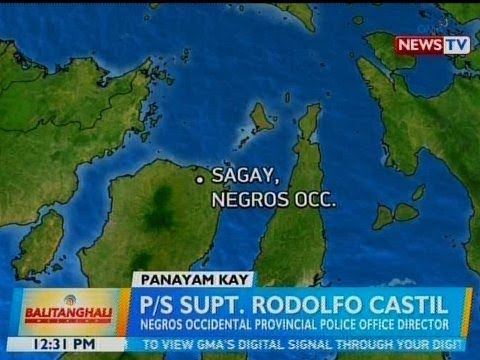 [GMA]  BT: Panayam kay P/S Supt. Rodolfo Castil, Negros Occidental Provincial Police Office Director