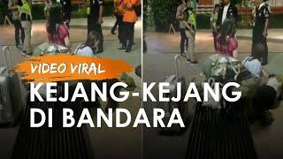 Viral WNA Kejang-kejang di Bandara Ngurah Rai, Terbujur Kesakitan hingga Keterangan Pihak Bandara