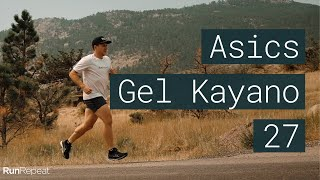 Asics Gel Kayano 27 review - A  legendary stability trainer
